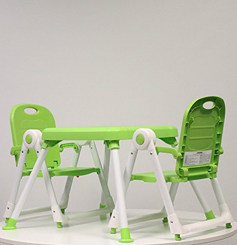 Zoe Best Foldable Toddler Table and Chair Set for Kids Art and Playtime
