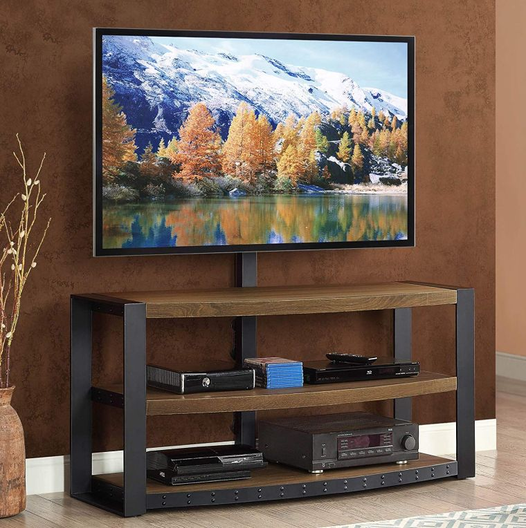Whalen Furniture Santa Fe 3-in-1 TV Stand best buy TV stands