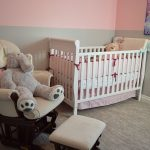 child's furniture in nursery bedroom