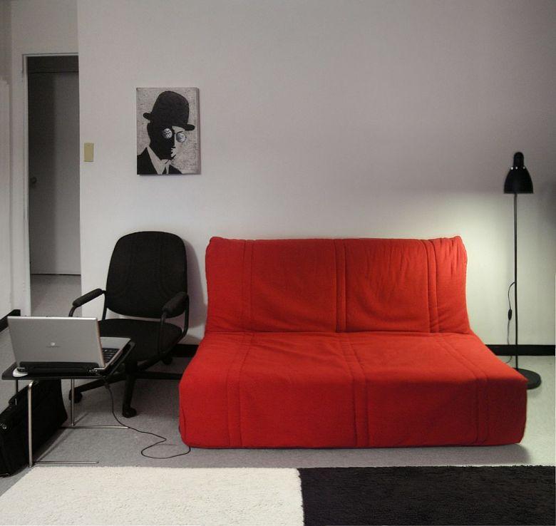 modern futon