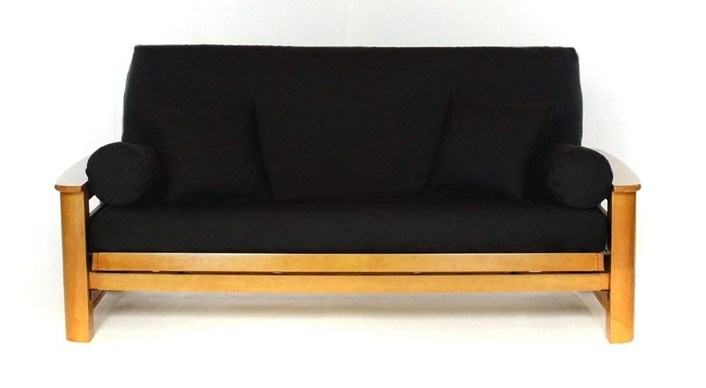 best futon covers review in black