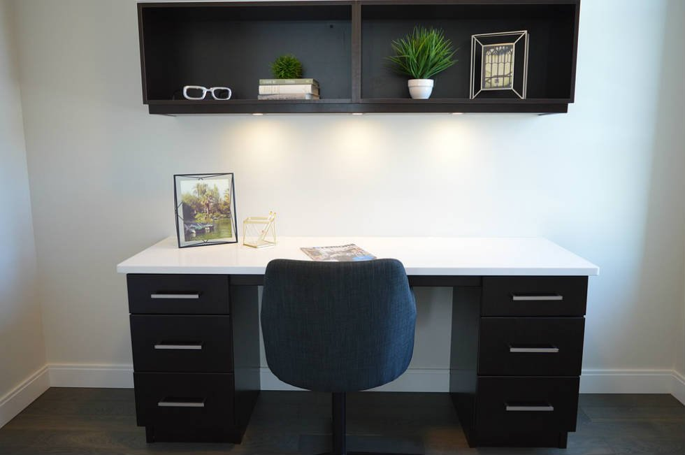 your home office desk