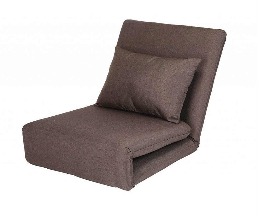 Loungie Relaxie Brown Linen Flipchair