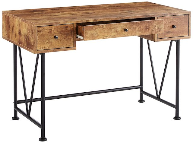 Glavan 3-Drawer Writing Desk