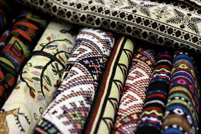 Old rugs to add vintage style.