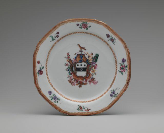 Vintage tableware for decoration