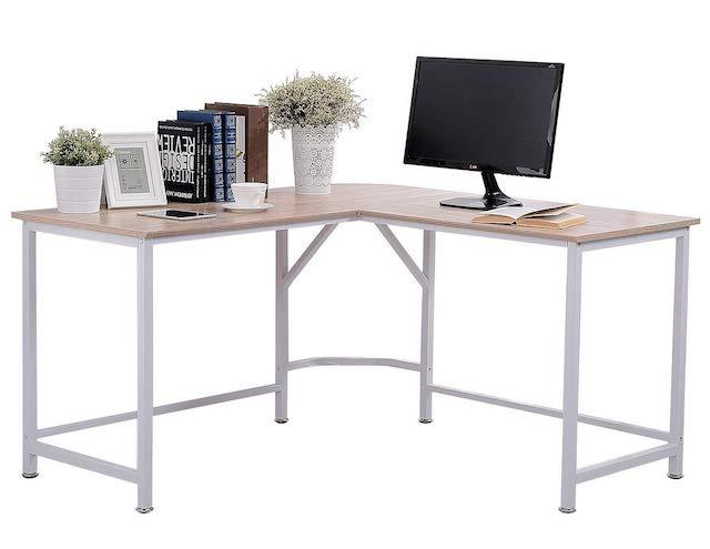 TOPSKY L-Shaped Corner Workstation