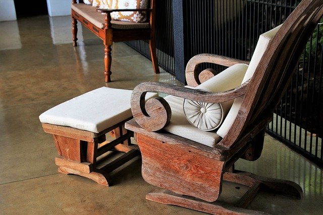 Antique furniture work