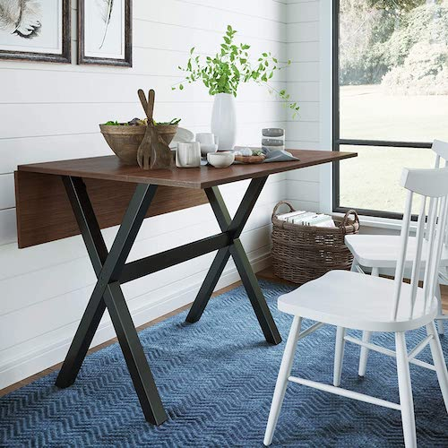 Nathan James Wood Folding Table
