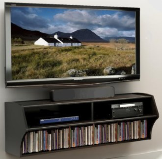 Prepac BCAW-0200-1 Altus Wall Mounted Audio/Video Console